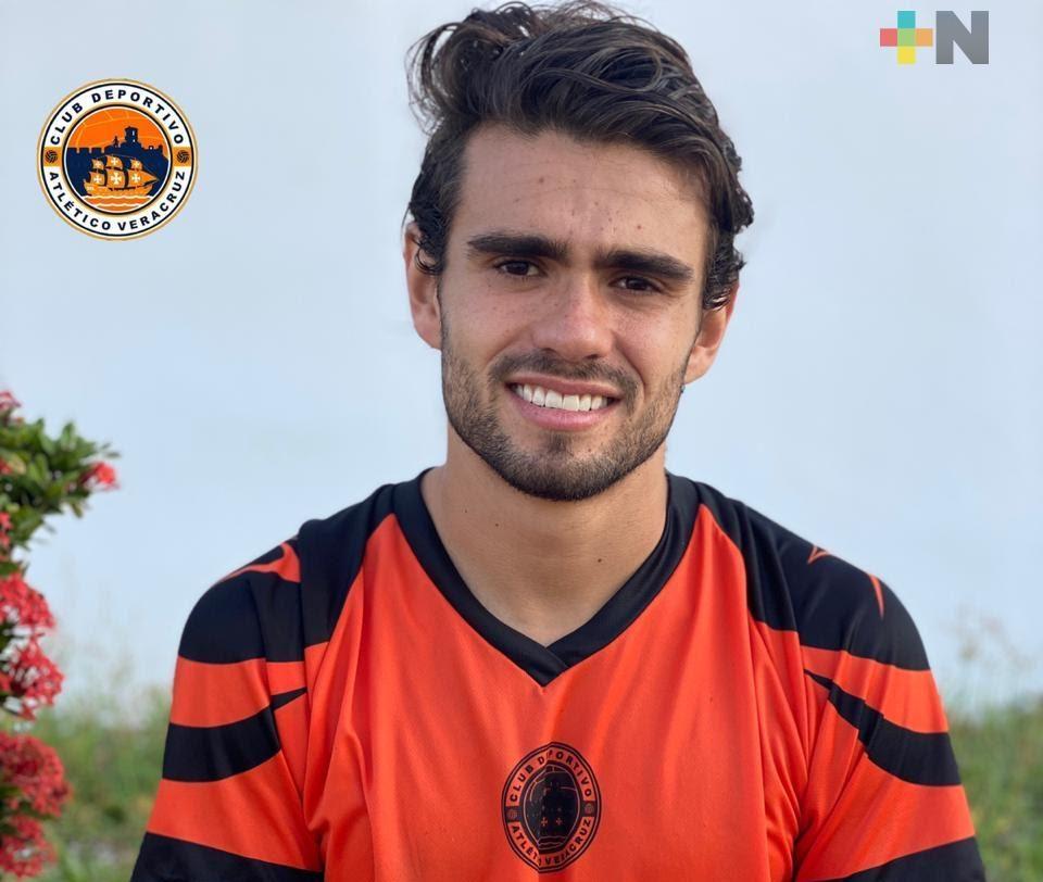 Jorge Moreno, contratación del Atlético Veracruz