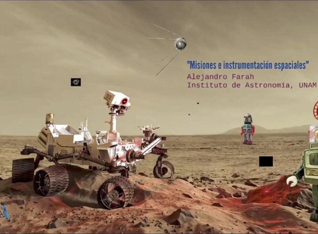 ¡Al espacio! proyectos de la UNAM