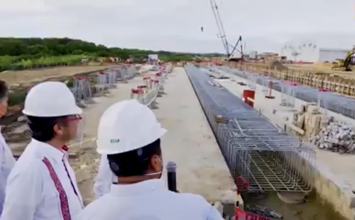 Supervisó Gobernador de Veracruz, proyecto del Istmo de Tehuantepec