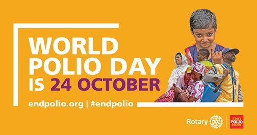 Rotary internacional trabaja para erradicar la polio