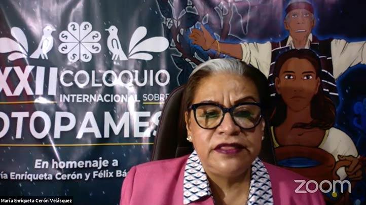 En Veracruz, el otomí tiene que competir con otras lenguas: Enriqueta Cerón
