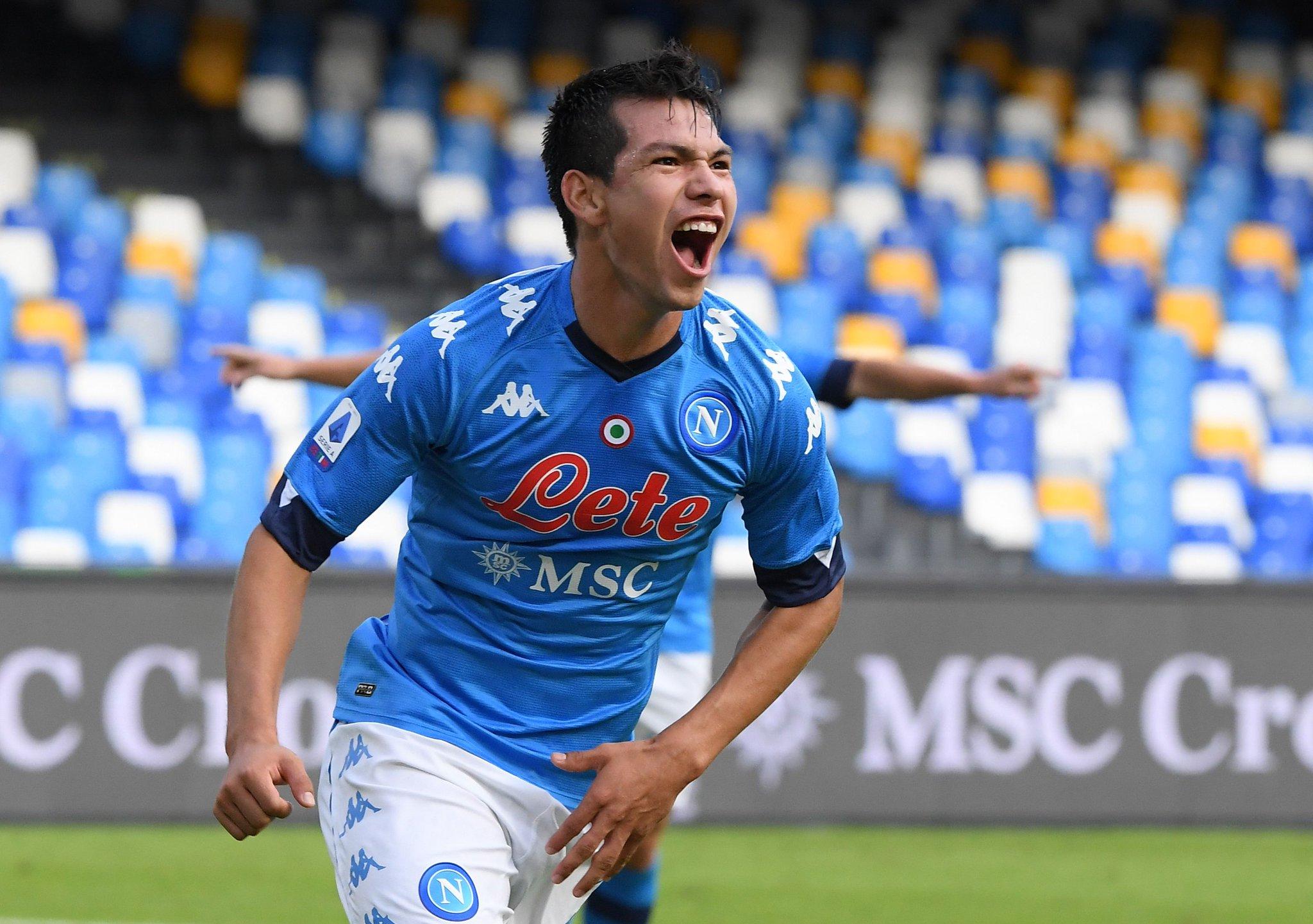 Destaca mexicano «Chucky» Lozano con doblete en la Serie A de Italia