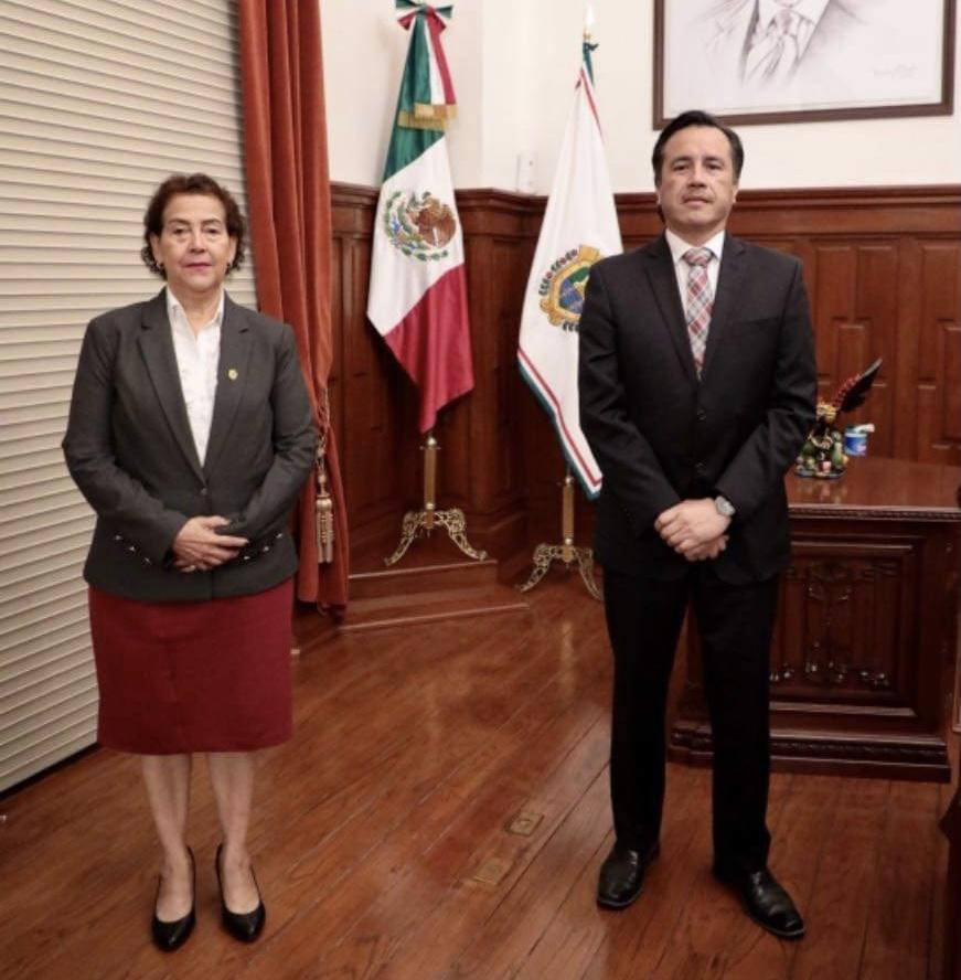 Coordinación y respeto reitera el Gobernador Cuitláhuac García al Poder Judicial del Estado