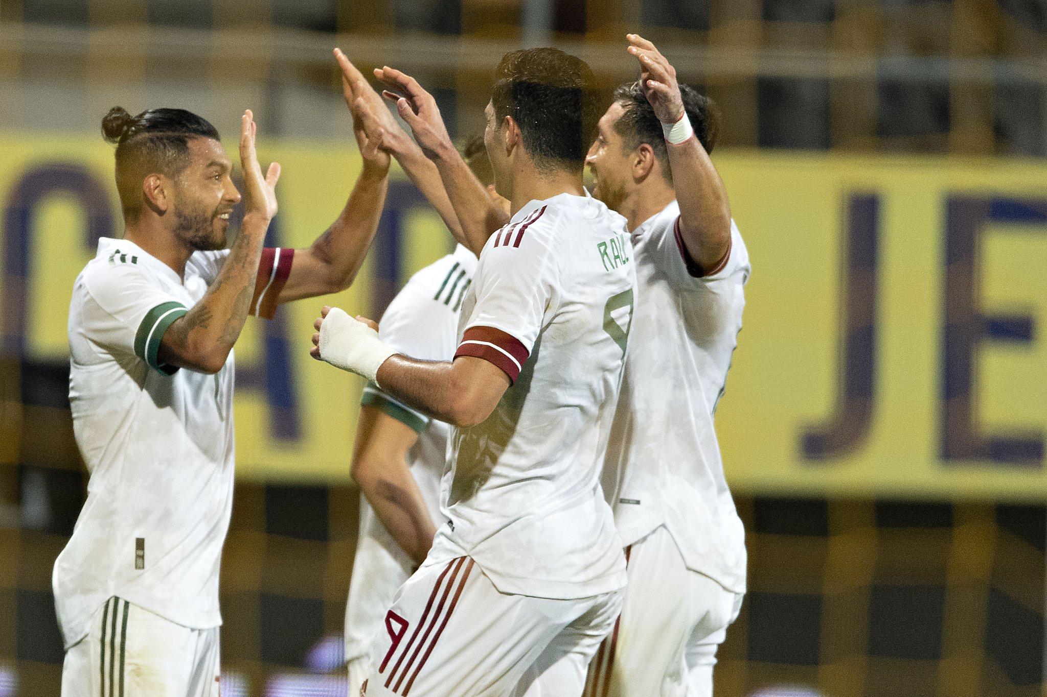 México rescató empate a 1 ante Argelia, con gol de Diego Laínez