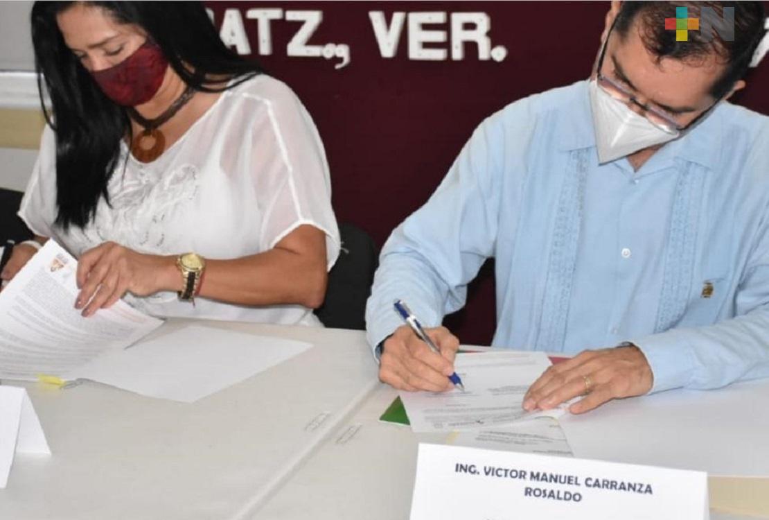 Autoridades de Coatzacoalcos firman convenio con Fonhapo para dar certeza jurídica a familias