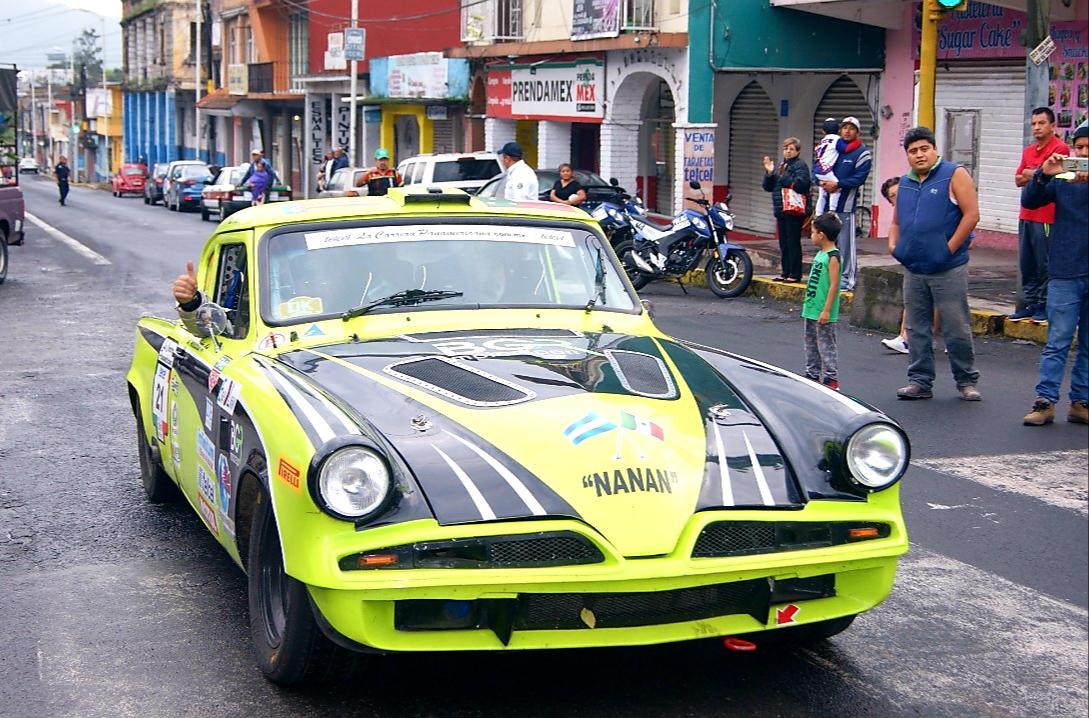 Municipios de la zona centro de Veracruz recibirán a los autos de la Carrera Panamericana 2020