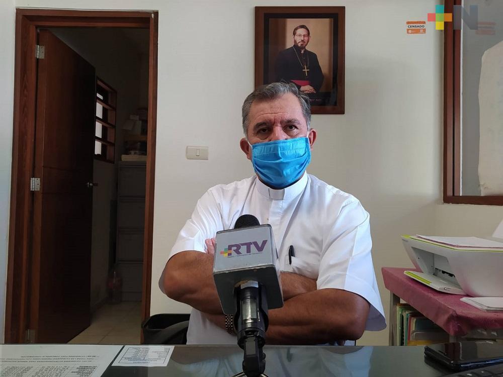 Arquidiócesis de Xalapa reconoce esfuerzo de personas que ayudan a enfermos de Covid