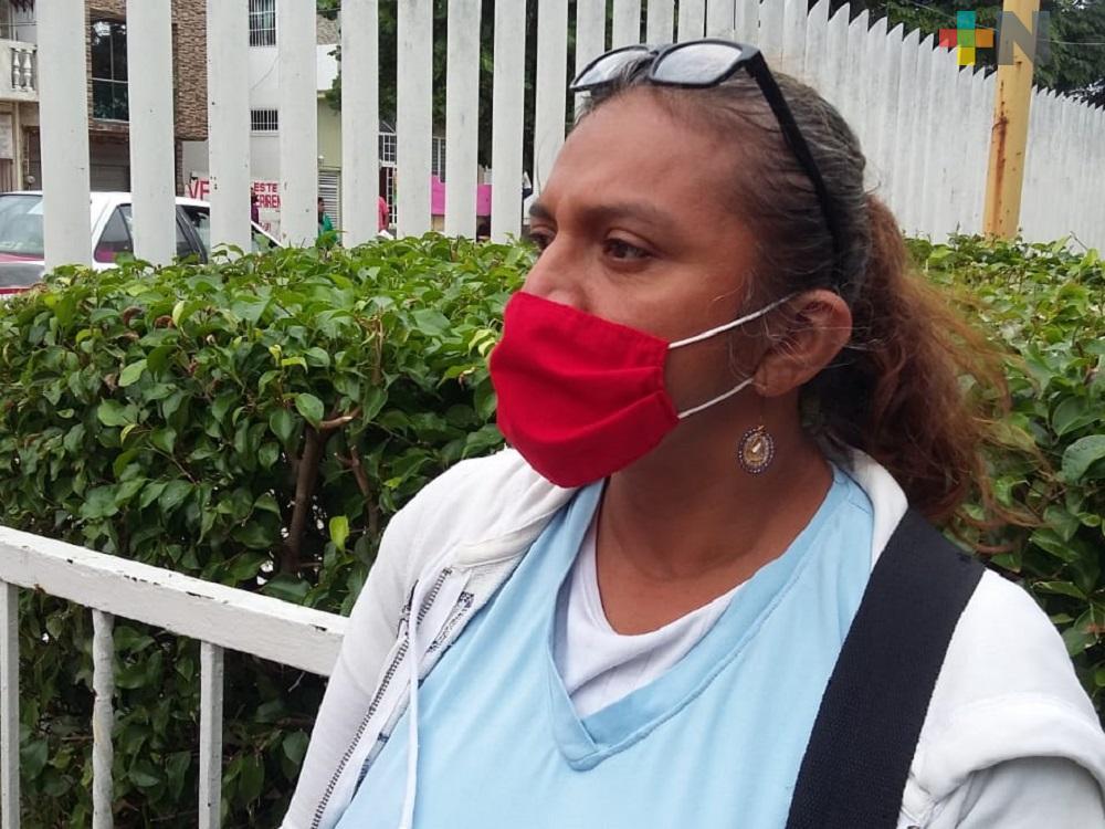 Damaris Méndez pide apoyo económico para cubrir  gastos médicos de su esposo atropellado