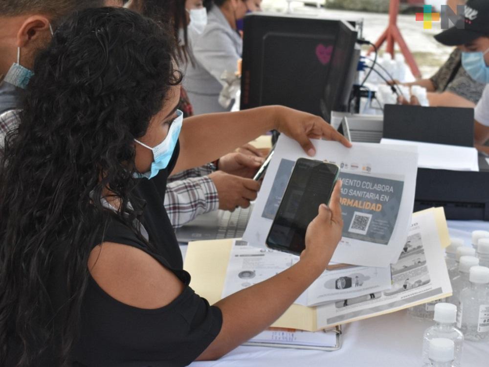 Más de 400 comercios en Tantoyuca tramitaron Código QR
