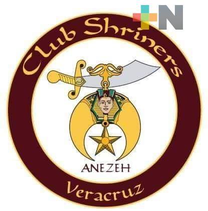 Club Shriners Veracruz facilita atención a niña con quemaduras