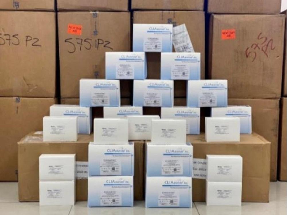 Frenan Aduanas y Guardia Nacional ingreso ilegal de más de 12 mil pruebas para COVID-19 en Ciudad Juárez
