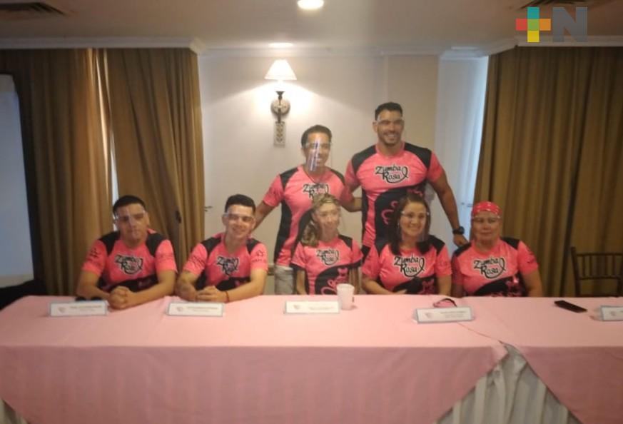 Posponen el Zumba Rosa alusivo al cáncer de mama