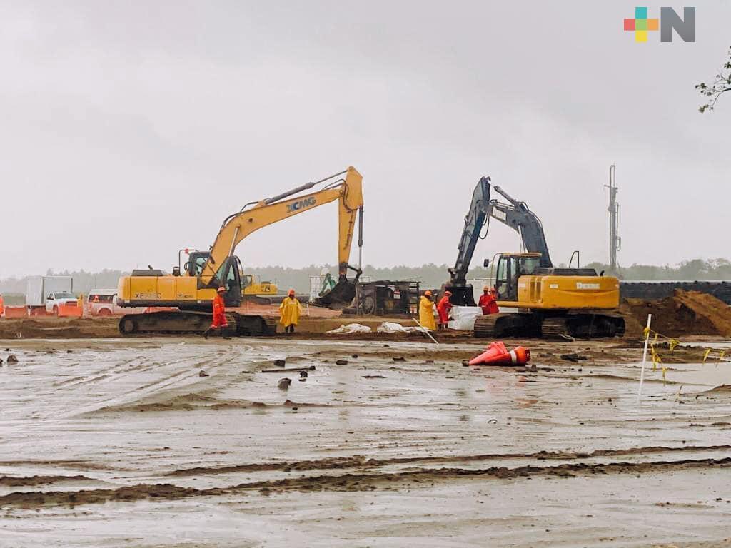 Se invertirán mas de 45 mil mdp para continuar con la construcción de  la refinería Dos Bocas