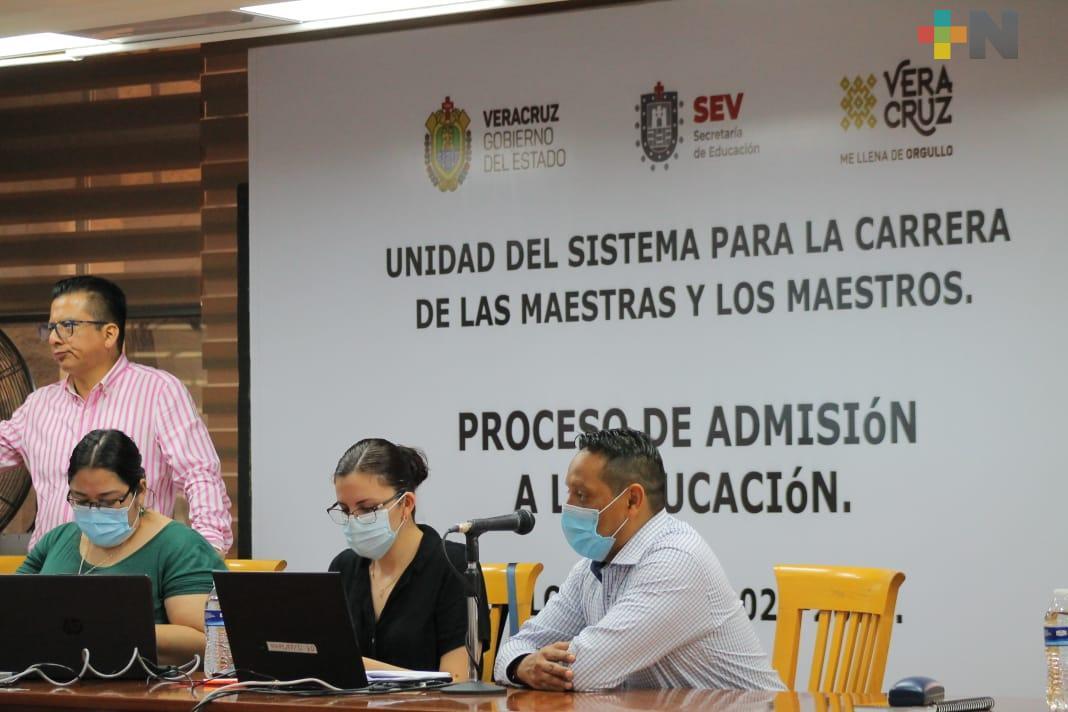 SEV fortalece al sistema educativo con la asignación de más de 2 mil plazas