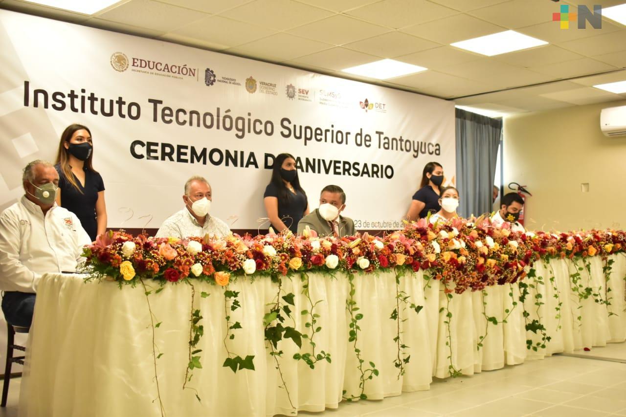 Tecnológico de Tantoyuca alista celebración por su 25 aniversario