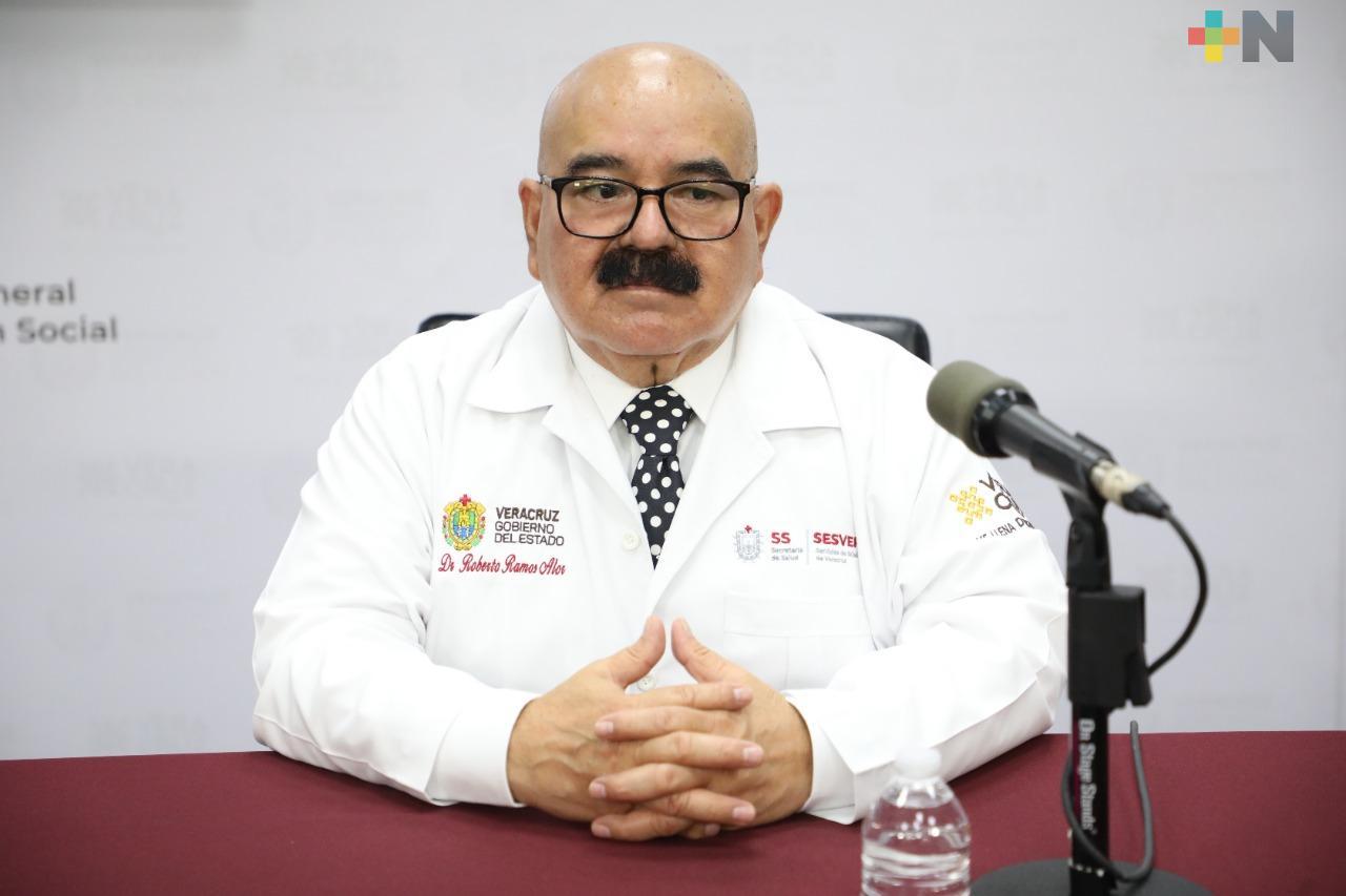 Registran 99 casos nuevos de Covid-19 en Veracruz