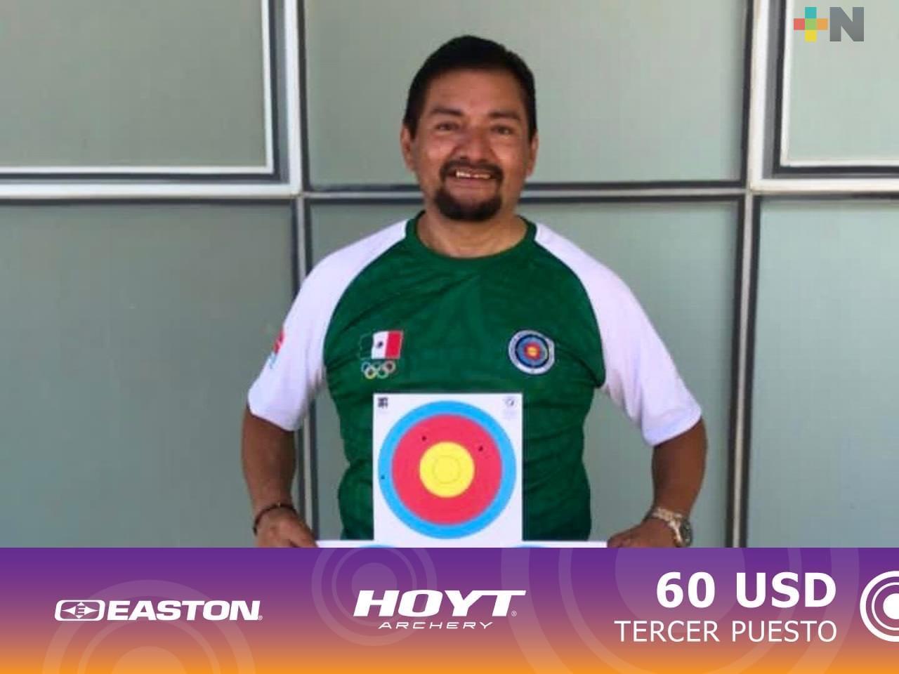 José de la Cruz Carrillo ganó bronce en Online Archery Cup de las Américas