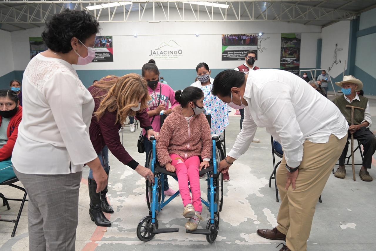 Brinda gobierno de Veracruz, apoyo en comunidades de Jalacingo