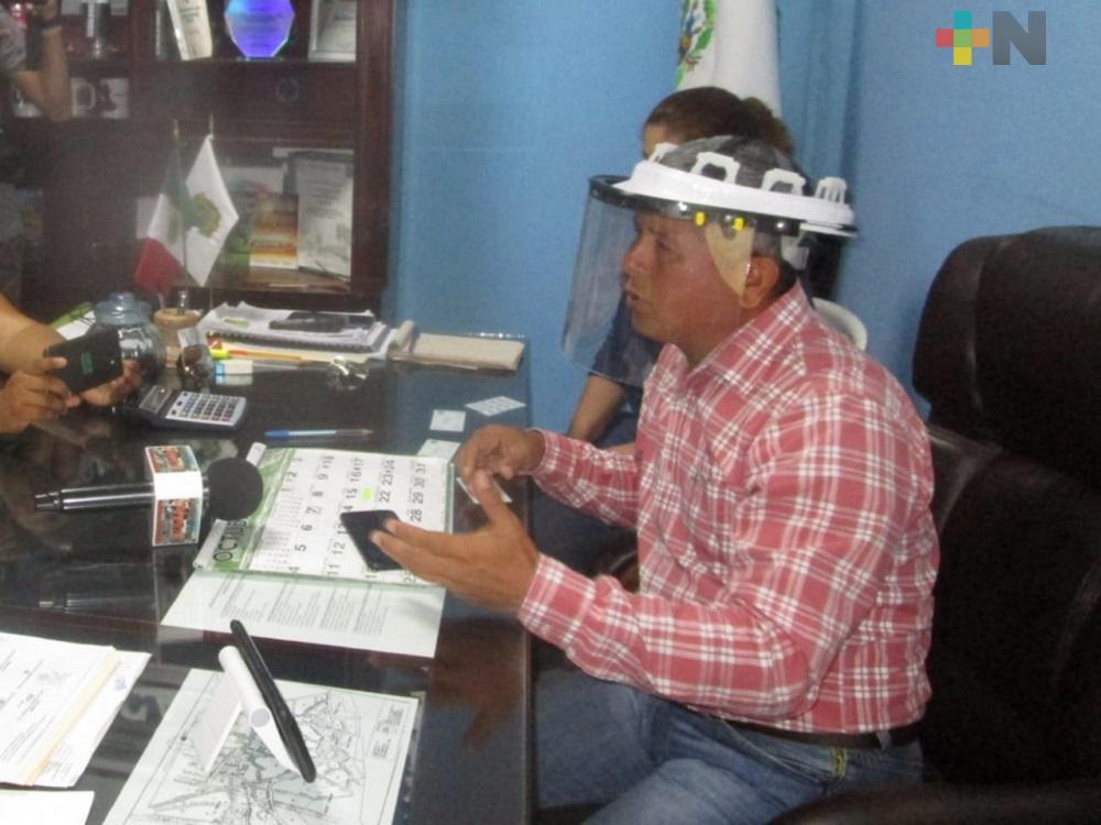 Alcalde de Chinameca niega acoso a comerciantes del municipio de Oteapan