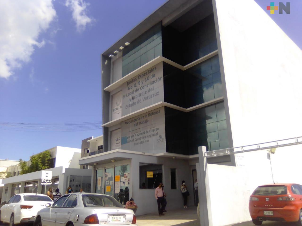 Por alerta preventiva, Junta Local de Conciliación  de Veracruz suspenderá actividades del 12 al 15 de febrero