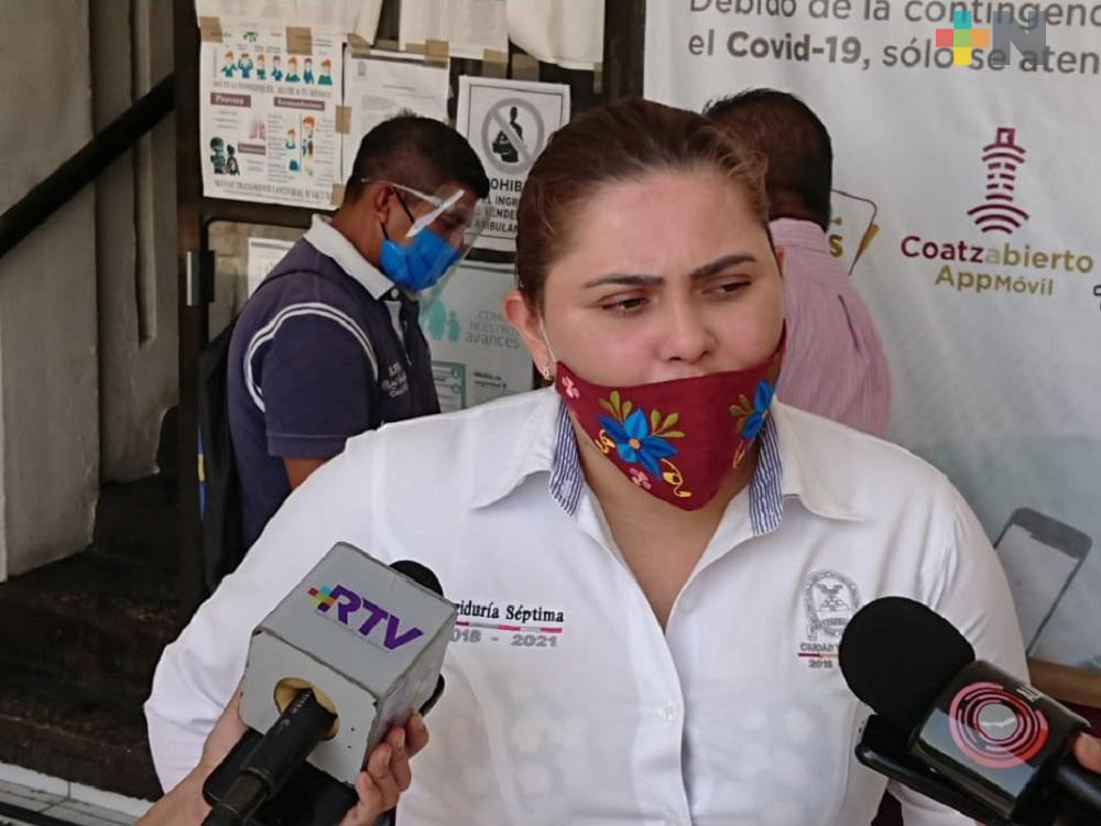 En este mes reabrirán entradas de mercados en Coatzacoalcos: regidora