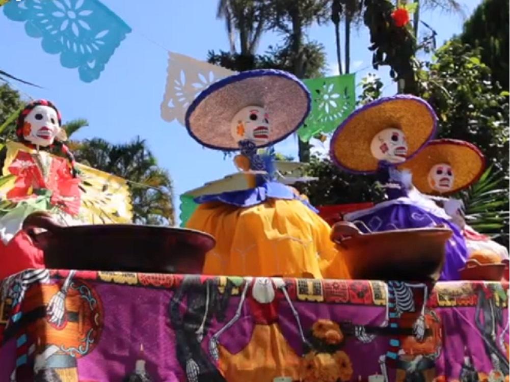 La Quinta de las Rosas se viste de la fiesta de Todos Santos