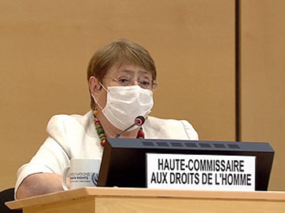 El enfoque de la respuesta a crisis de COVID-19 no funciona: Bachelet