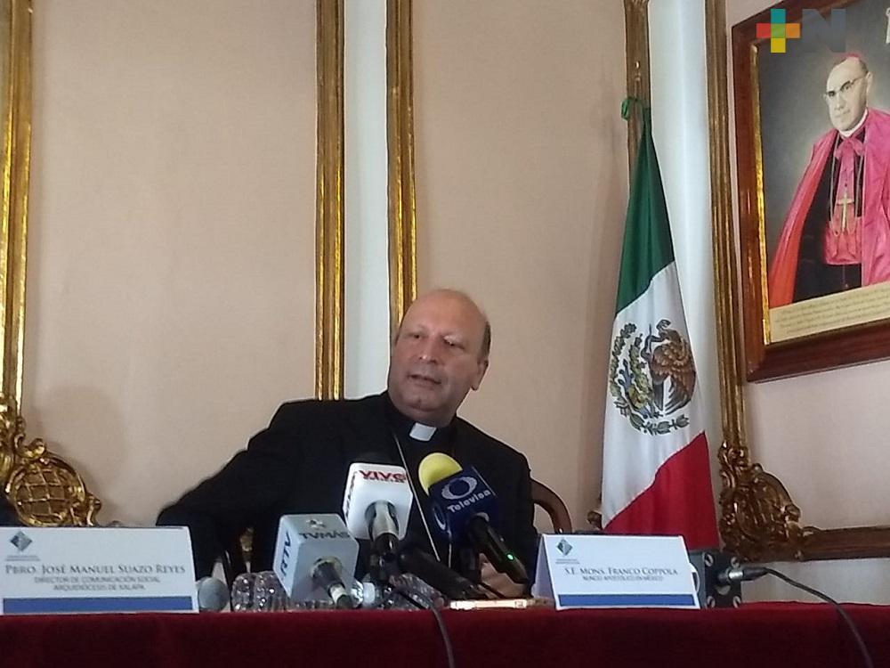 Papa Francisco no apoyó abierta o explícitamente uniones homosexuales: Franco Coppola