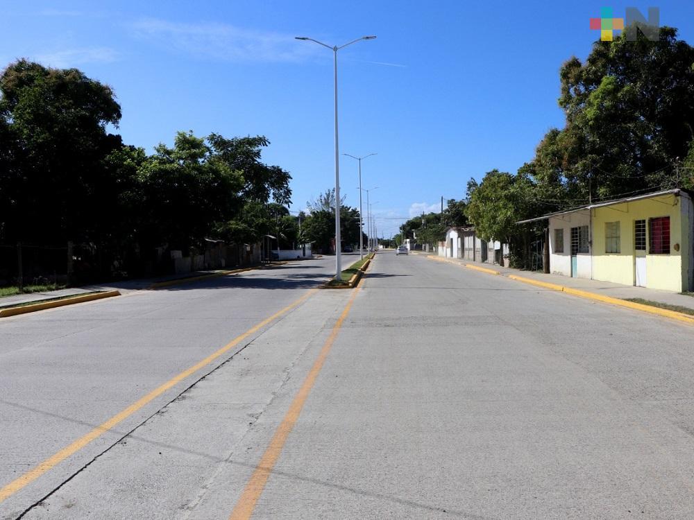 Ponen en marcha segunda etapa del libramiento Adolfo López Mateos en Tuxpan