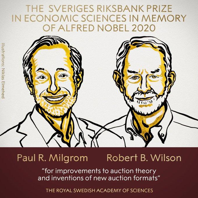 Dos expertos en teoría de juegos ganan el Premio Nobel de Economía