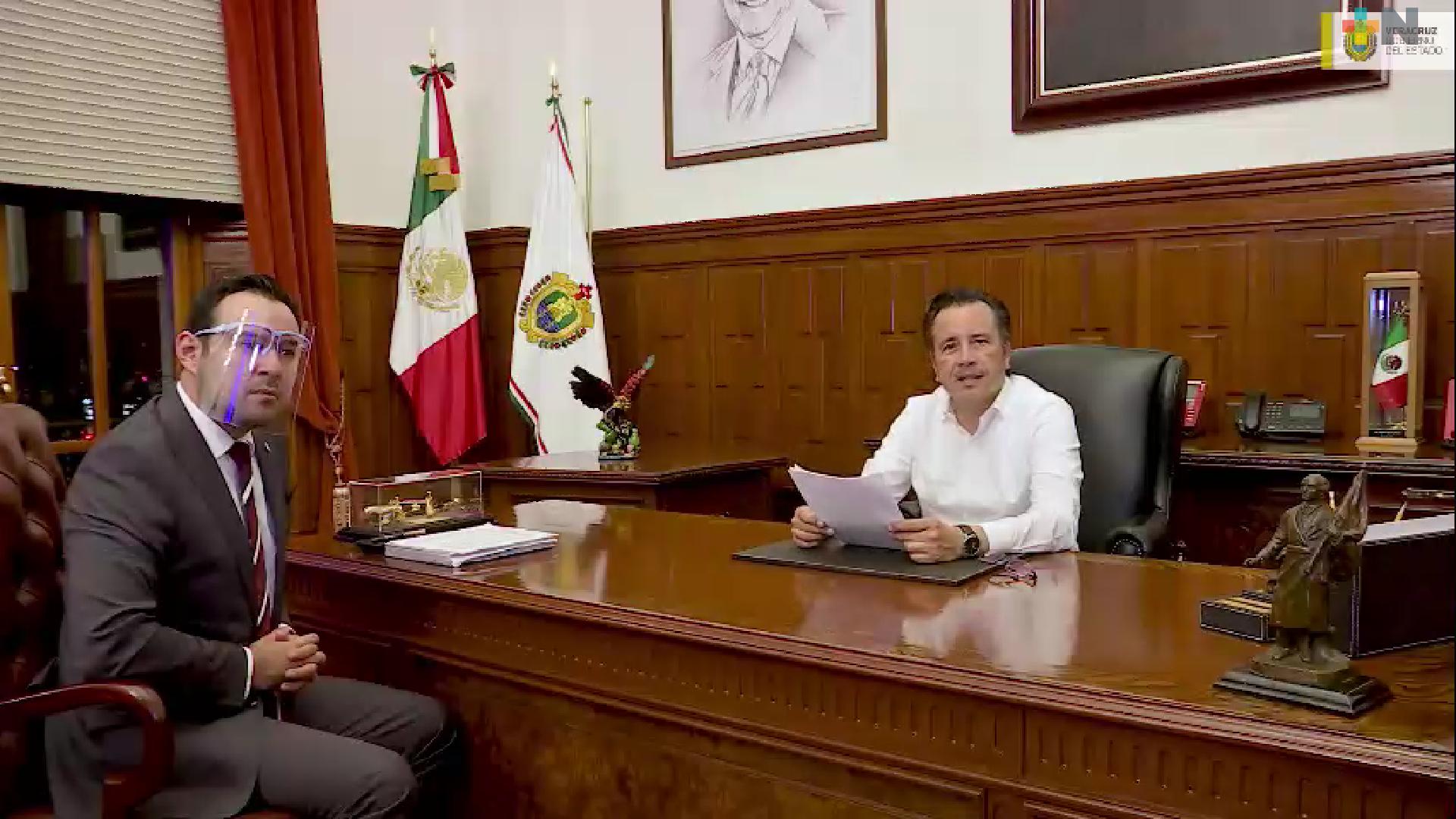 Convoca gobernador Cuitláhuac García a los cabildos a reestructurar la deuda impagable de los municipios