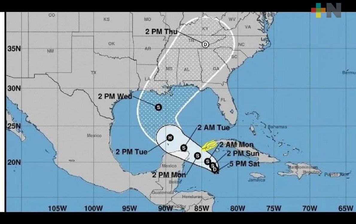 Tormenta Tropical Zeta sin representar peligro para las costas veracruzanas