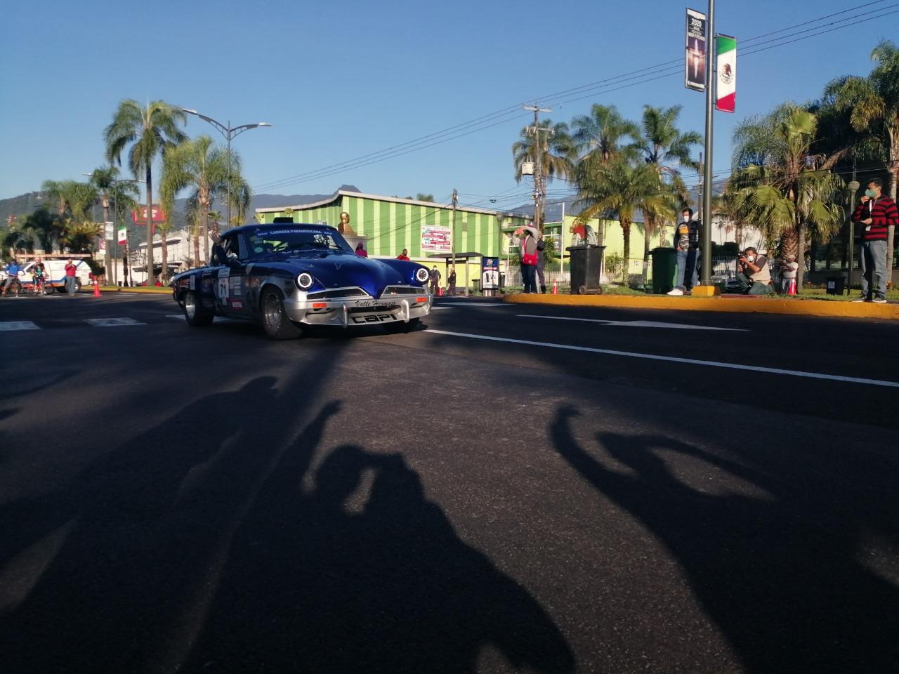 Recorrió la Carrera Panamericana la ciudad de Orizaba y municipios de la región