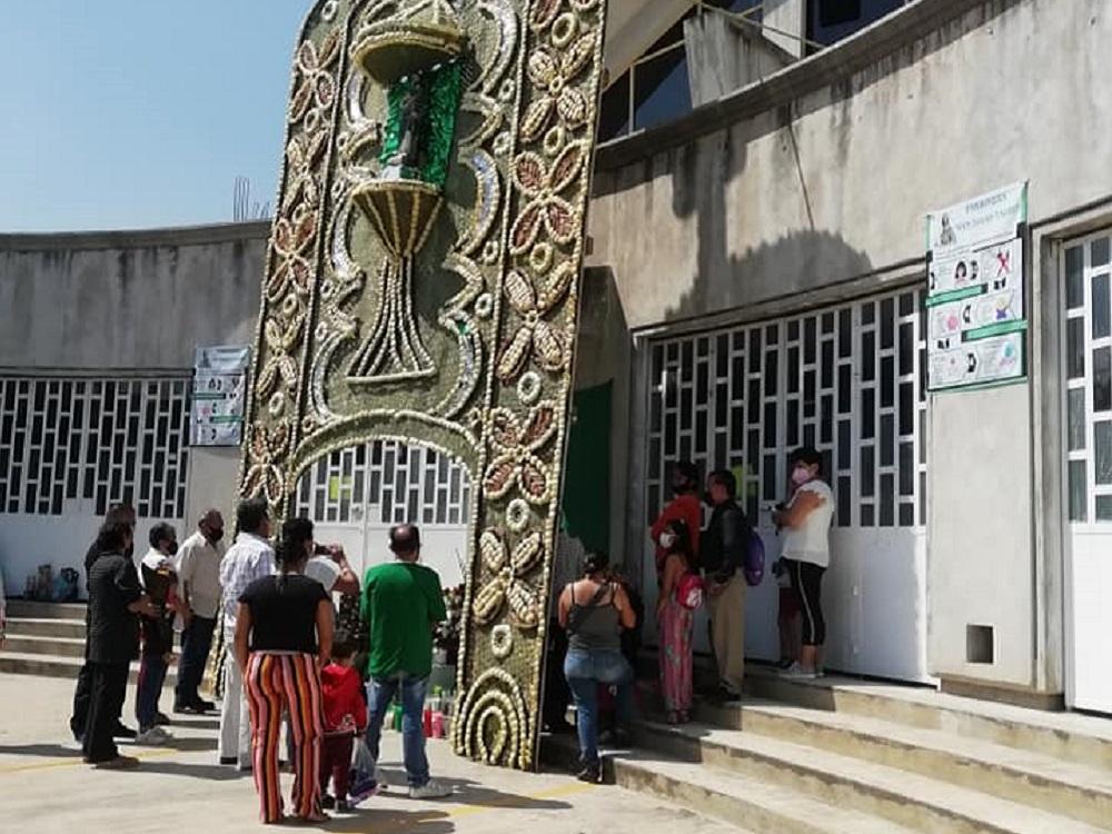 Xalapeños celebran a San Judas Tadeo