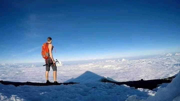 David Villarreal busca vivir un mes en el Pico de Orizaba