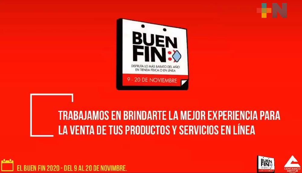 Inició registro de negocios para participar en el Buen Fin en el estado de Veracruz