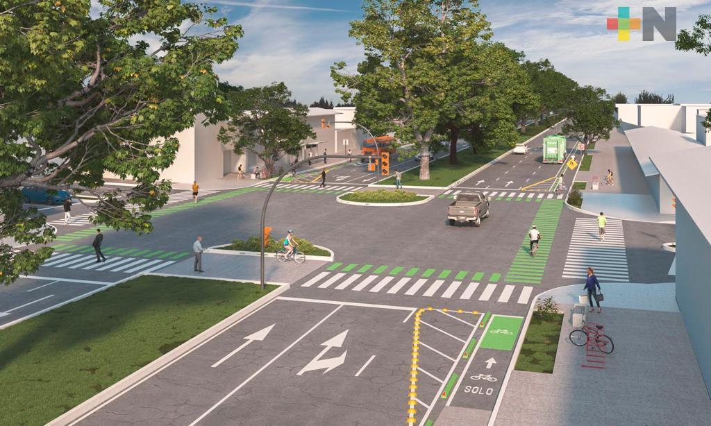 Ciclovía en la avenida Ruiz Cortines será la primera de una red en Xalapa