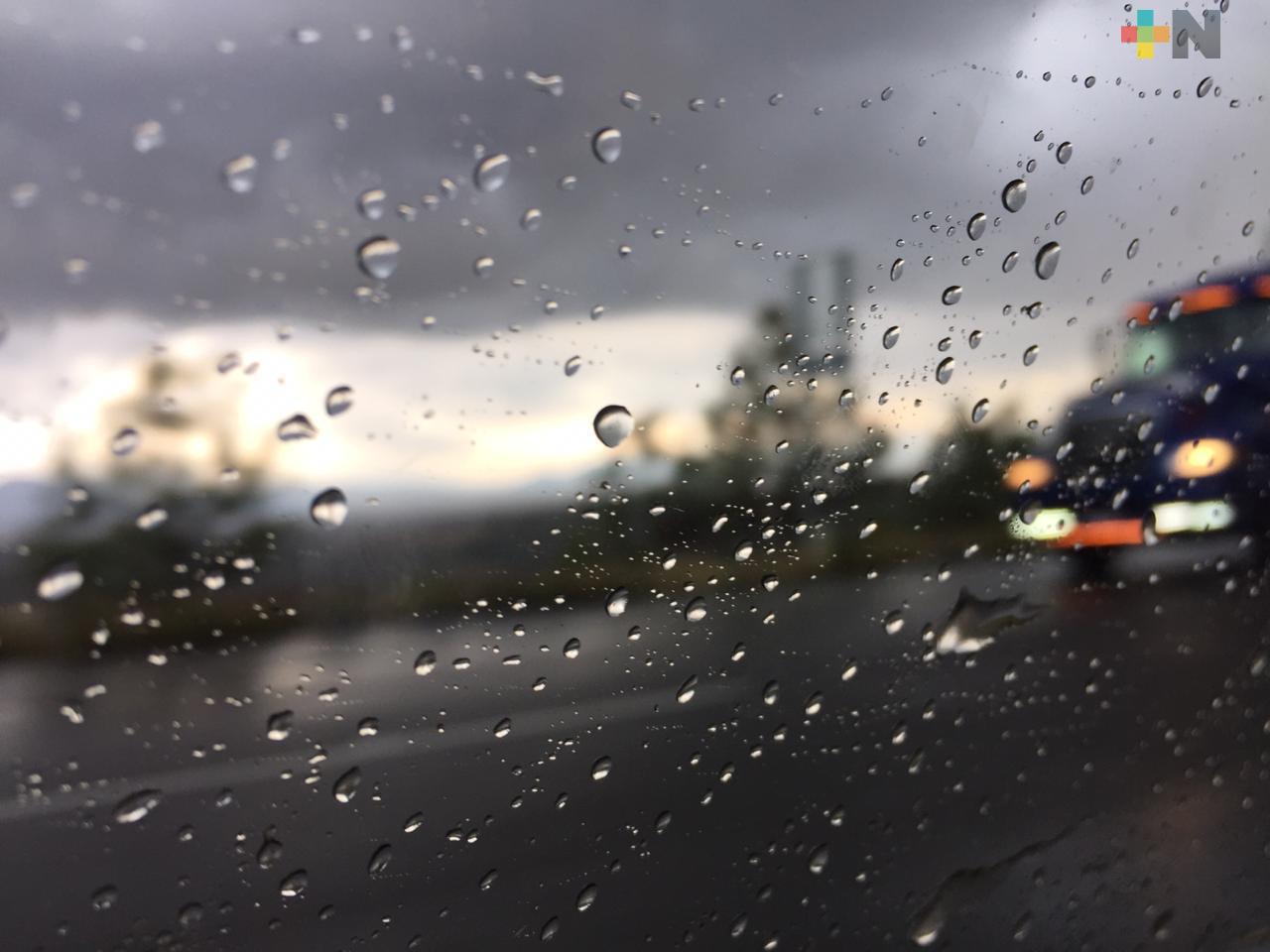 Continuarán lluvias, lloviznas y nieblas en territorio veracruzano