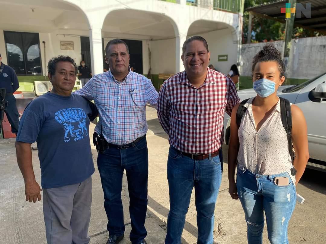 Liberan a personas detenidas por la Policía Municipal en Alvarado
