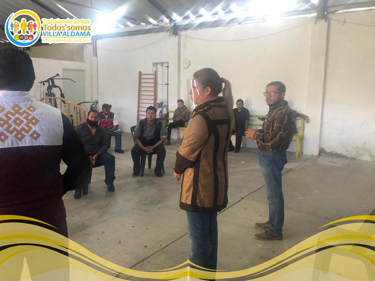 Agradece alcaldesa de Villa Aldama haber incluido a su municipio en el programa Orgullo Veracruzano