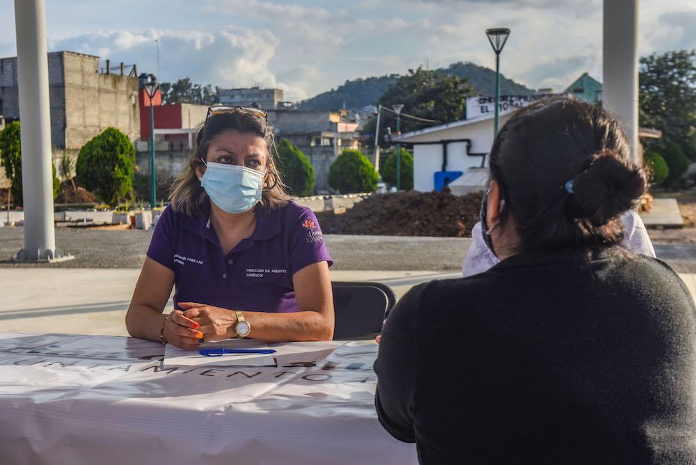 Dirección de Asuntos Jurídicos de Xalapa brinda asesoría a toda la población, independientemente del género
