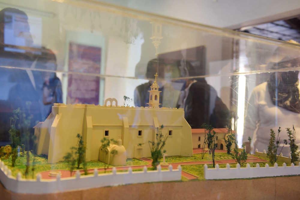 Llega maqueta del Convento Franciscano de Xalapa al Muxa