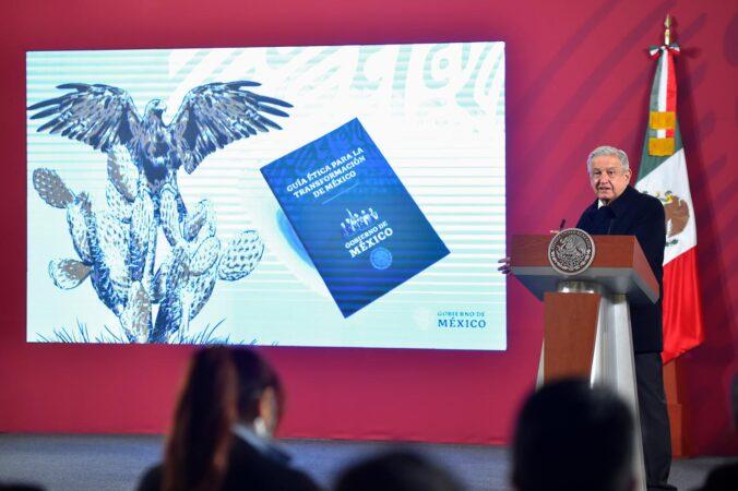 Presidente presenta la Guía Ética para la Transformación de México