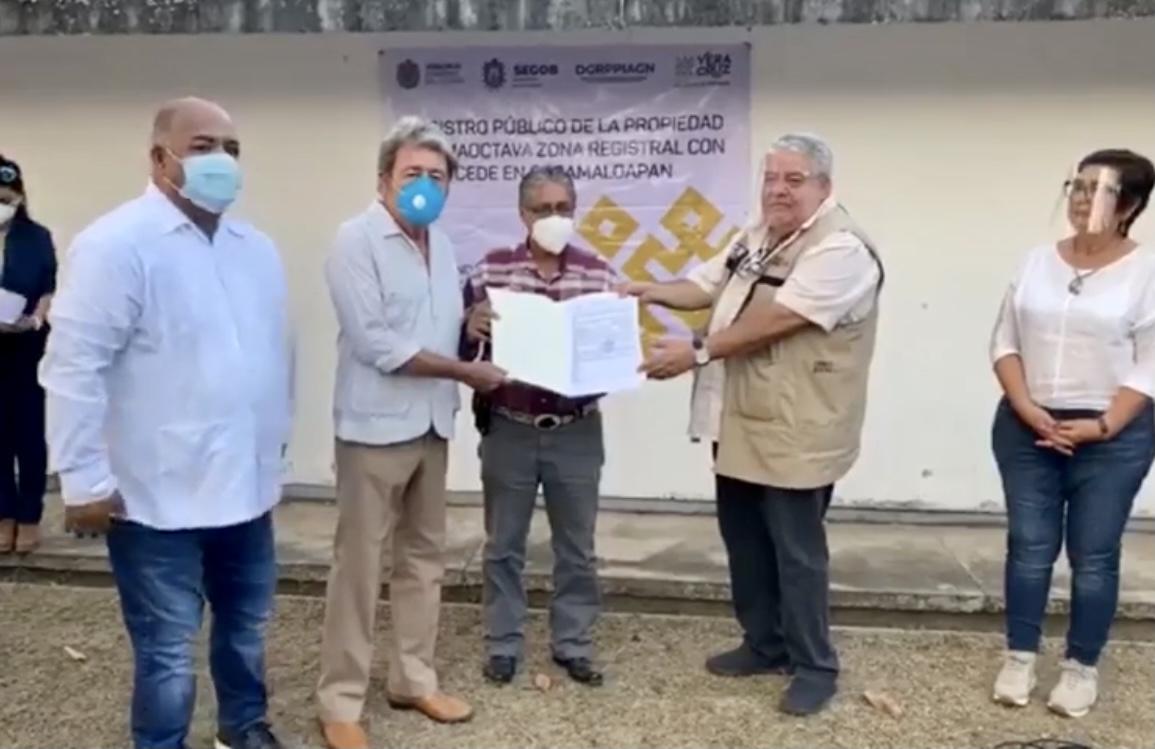 Donó ayuntamiento de Otatitlán terreno para Banco del Bienestar