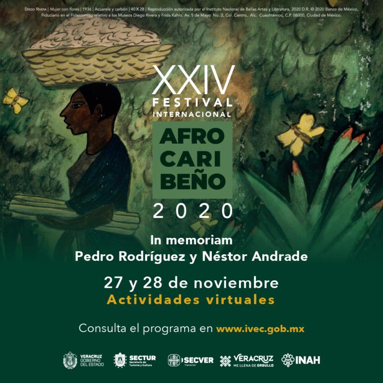 IVEC presenta el XXIV Festival Internacional Afrocaribeño, en modalidad virtual
