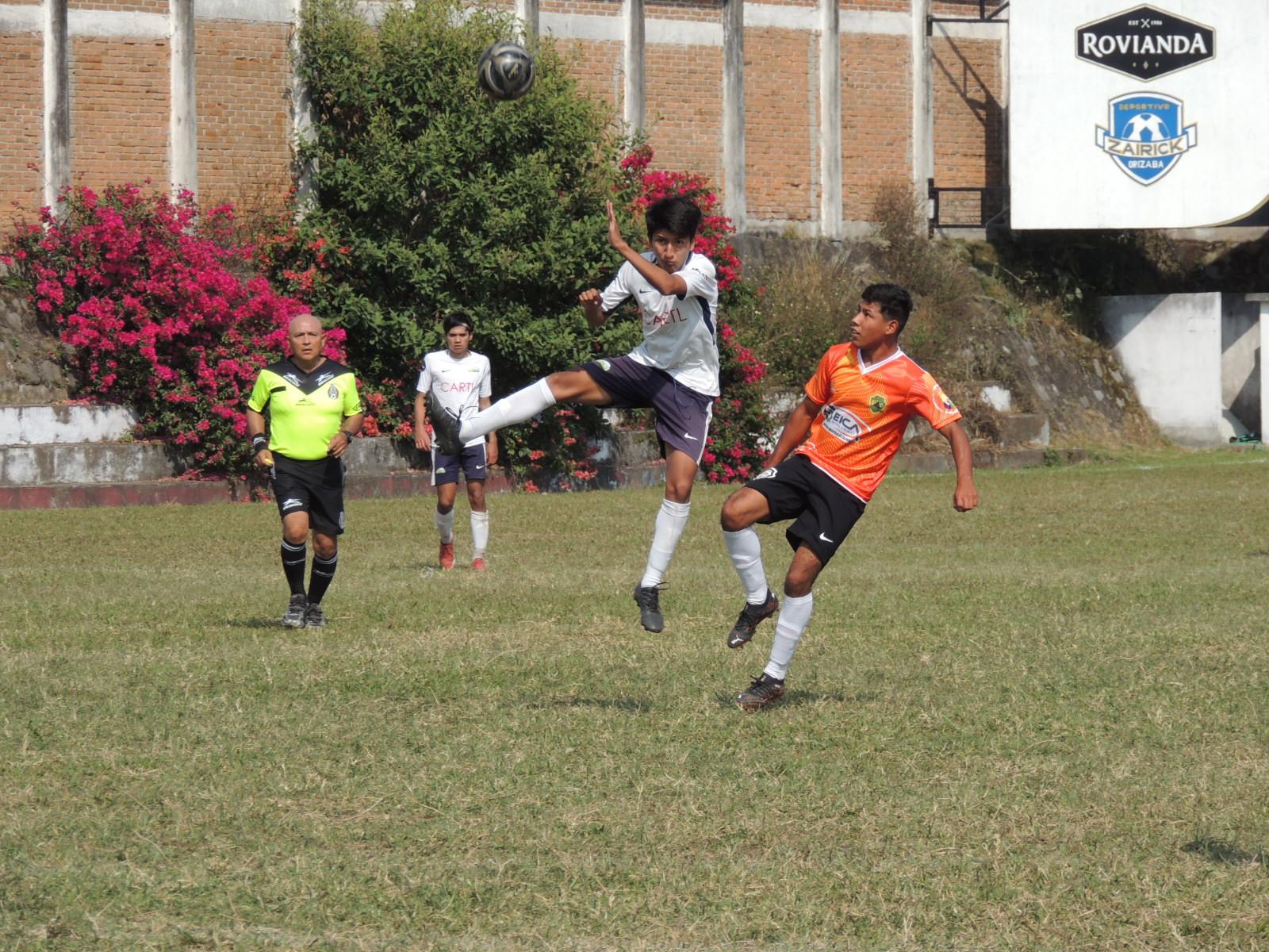 Continúa Centro de Formación Orizaba invicto dentro de la Cuarta División de futbol