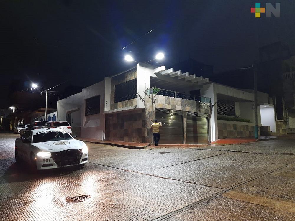 Comando armado ataca casa de alcalde de Acayucan