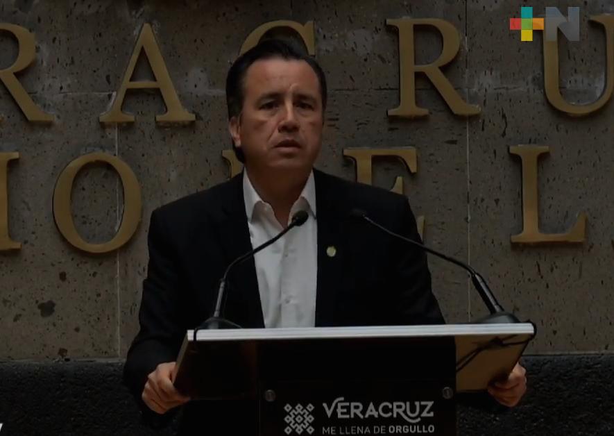 Federación dará un presupuesto adicional superior a 300 mdp para destinar al sur de Veracruz