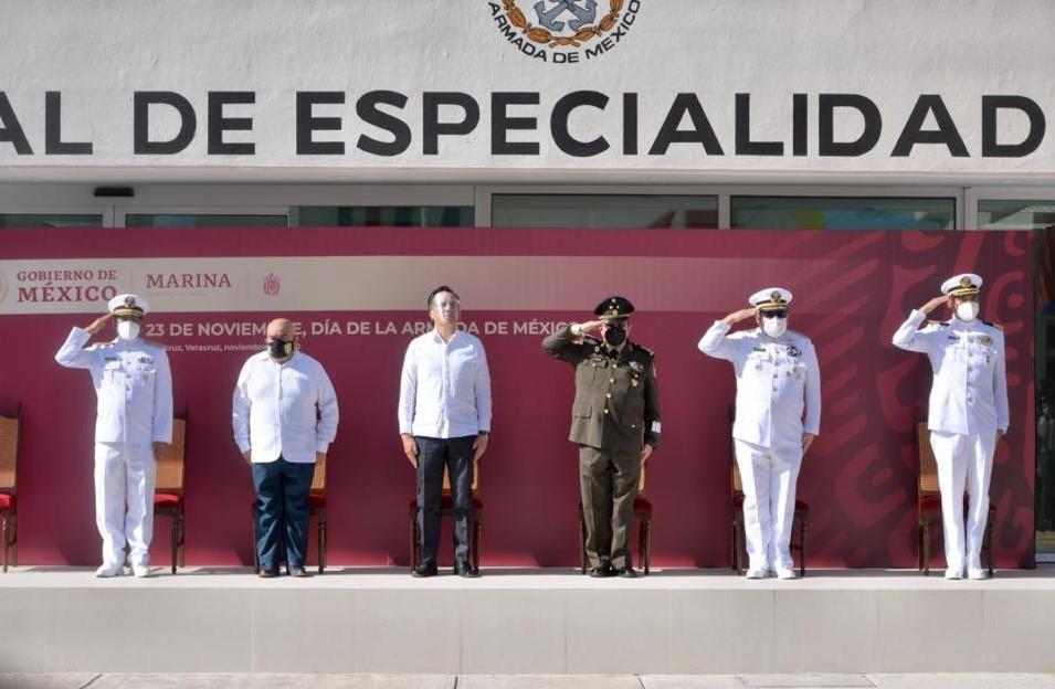 En el Día de la Armada de México, autoridades reconocen el trabajo de sus elementos contra COVID-19