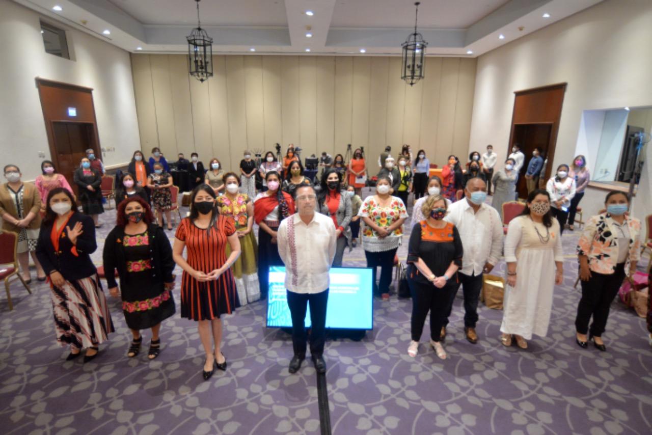 Veracruz hizo efectiva la paridad de género y sanciona la violencia contra las mujeres: gobernador Cuitláhuac García
